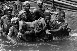 Belgian mercenary Marc Goossens, killed during a Nigerian attack Biafra, Nigeria November 1968