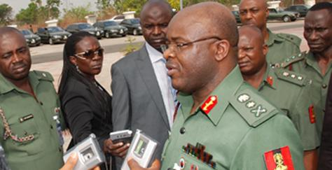 Lt General OA Ihejirika, Chief of Army Staff, Nigerian Army