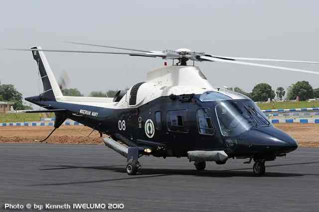 Agusta A109 E Power of the Nigerian Navy Air Arm(part of 2009 delivery):dedicated maritime variant