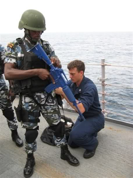 NIGERIAN NAVY SBS COMMANDO