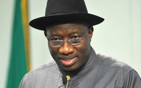 Dr G.E. Jonathan - President, Commander-in-Chief of the Armed Forces, Federal Republic of Nigeria