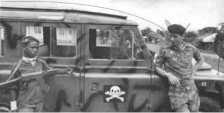 Rolf Steiner -Commander, Biafran Commando Brigade