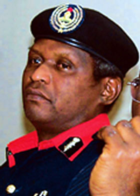Dr Ade Abolurin, Commandant-General, Nigeria Security and Civil Defence Corps