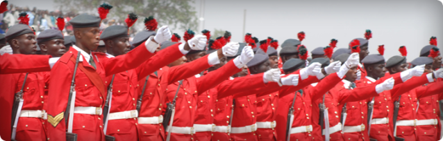 Cadets of the Nigerian Defence Academy