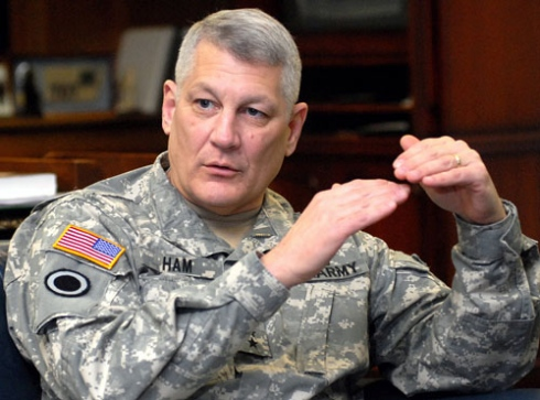 US AFRICOM Commander, General Carter F. Ham