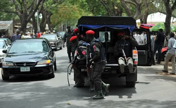 Red Berets of the Nigeria Police Force Anti Terrorism Squad