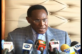Professor George Saitoti, Kenyan Minister of Internal Security