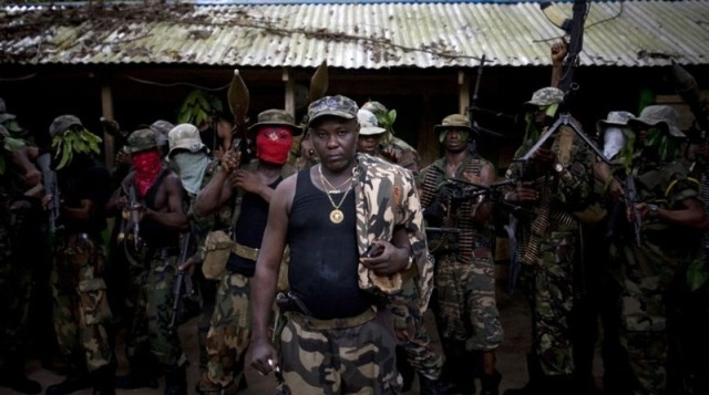 Leader of the defunct Niger Delta Vigilante and one of four principal MEND factional commanders who took up the offer of amnesty, Ateke Tom