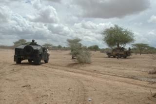 KDF and TFG forces inside Somalia