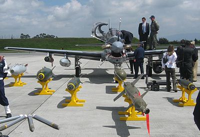 Panoply of Super Tucano armaments