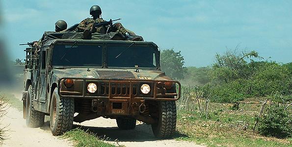 Kenya Army HMVV