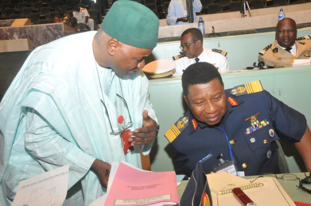 Nigeria's Chief of Defence Staff, Air Chief Marshal Oluseyi Petinrin