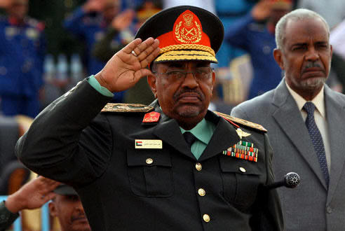 Field Marshal Omar al-Bashir, President of The Sudan