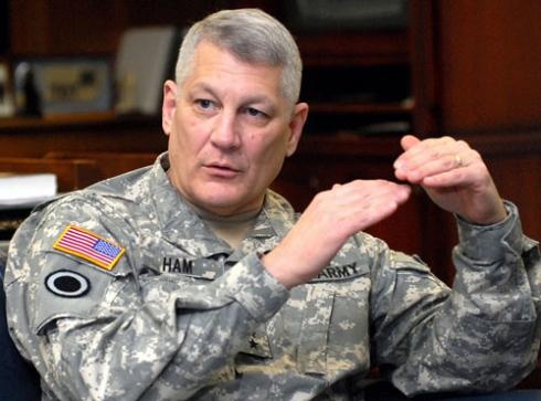 US AFRICOM Commander, General Carter F. Ham