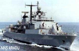 NNS Aradu F89, flagship of the Nigerian Navy