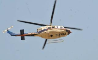 A Bell 412 helicopter of the Nigeria Police Air Wing