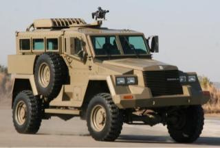 Springbuck VI mine-protected vehicle