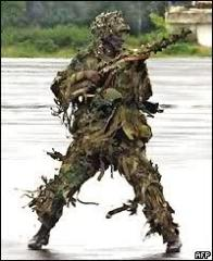NIGERIAN ARMY SNIPERS ON ECOMIL ASSIGNMENT: LIBERIA, AUGUST