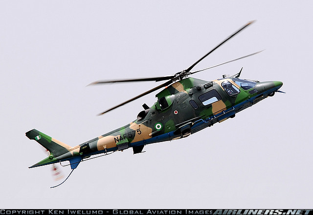 NAF 575 - a military-variant Agusta A109LUH