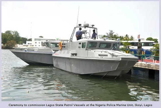 13-metre ARMACRAFT CROQ 1270 patrol vessels, donated to the Nigerian Navy(May 3,2012)