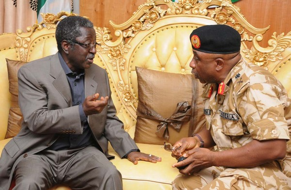 Major General Olayinka Oshinowo(r), General Officer Commanding, 82 Composite Division, Nigerian Army