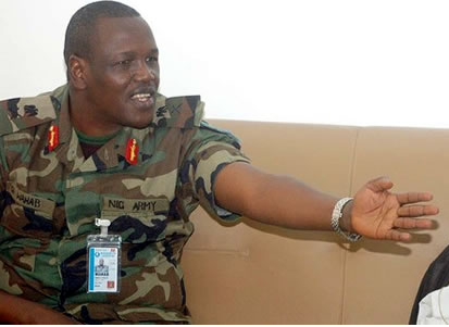 Major General Garba Wahab, General Officer Commanding, 1 Mechanised Infantry Division, Nigerian Army