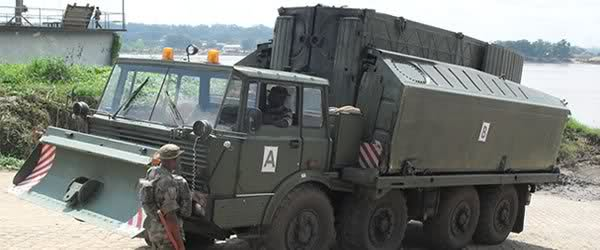 Nigerian Army Engineers equipment