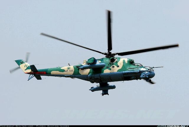NAF 532 - Mi35P attack helicopter