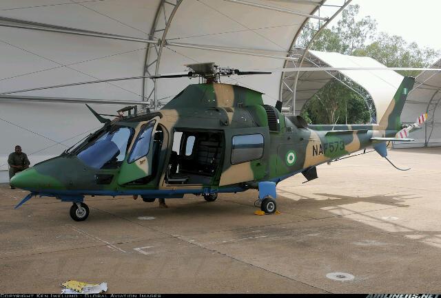NAF 573: Agusta A109 LUH
