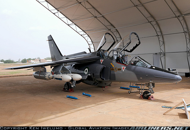 NAF 465 - One of four recently-refurbished and upgraded Alpha Jet airframes