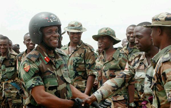 Maj.Gen Emeka Onwuamaegbu, a crack 36-year veteran and Commandant, Nigerian Defence Academy