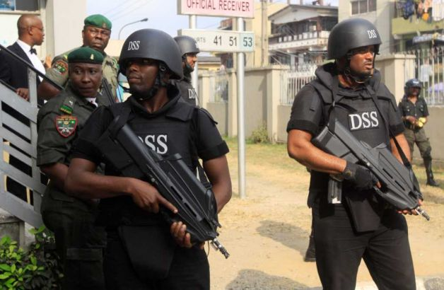 Storm troopers of the State Security Service(SSS)