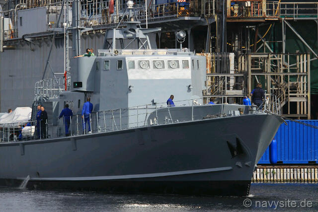GNS Yaa Asantewaa P38 and her sister ship GNS Naa Gbewaa P39 were acquired at a cost of US$35m