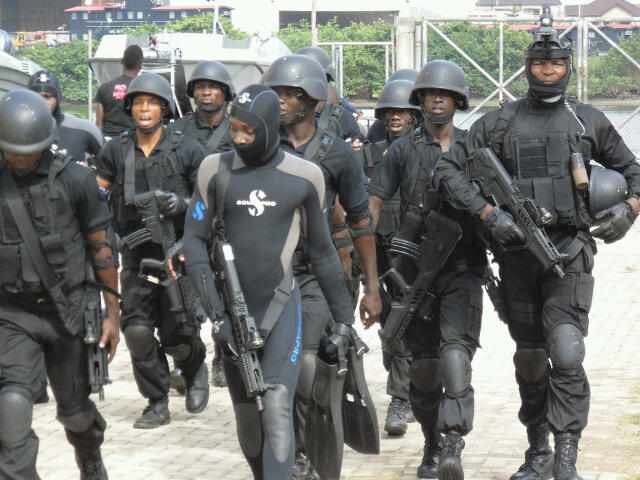 Nigerian Navy SBS commandos - where the Eagles dare