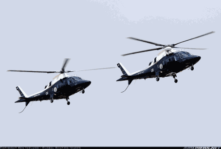 Nigerian Navy Agusta A109e Power helicopters