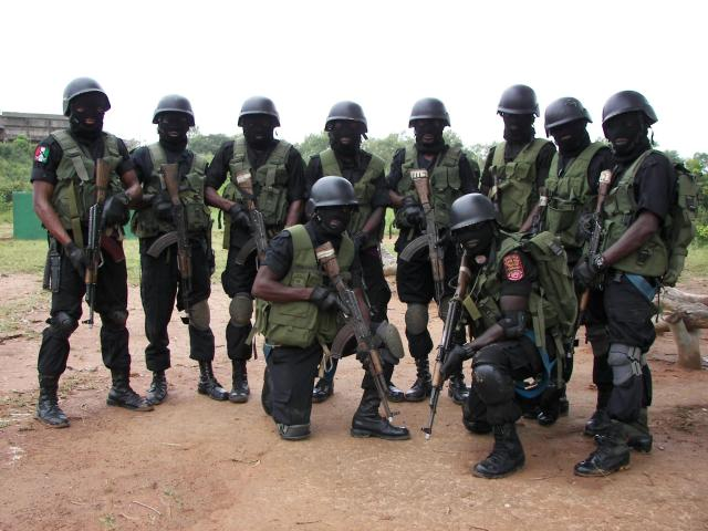 Nigerian Army Special Forces personnel