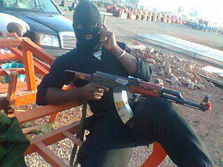 Nigeria Police Anti Terrorism Squad operative