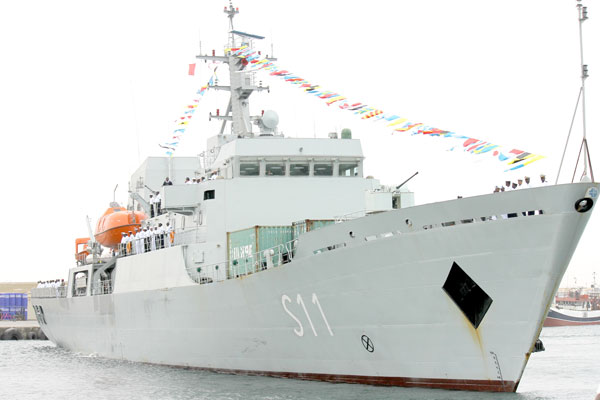 Namibian Navy Ship 'ELEPHANT S11'