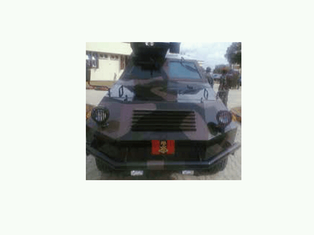 IGIRIGI APC, produced by the Nigerian Army Electrical and Mechanical Engineers