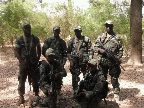 WORLD EXCLUSIVE: NIGERIAN ARMY SPECIAL FORCES IN MALI ...  Nigerian Army Special Forces
