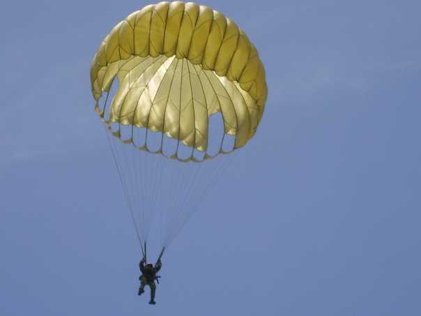 Nigerian Army paratrooper