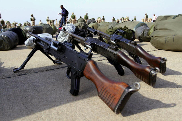 Made-in-Nigeria weapons from the stable of the Defence Industries Corporation of Nigeria(DICON)