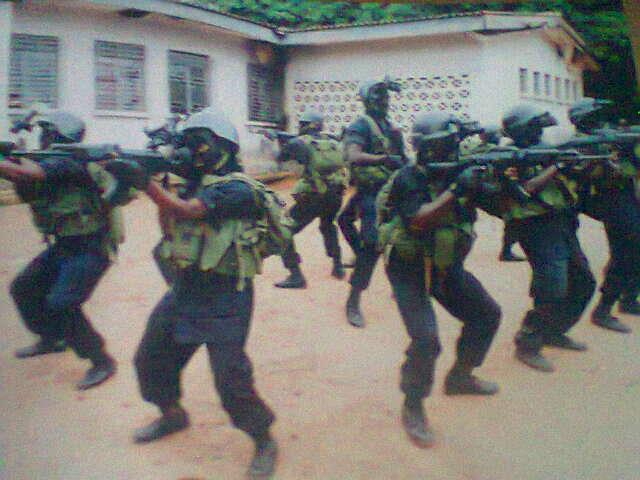 Good to go: Nigerian Army Special Forces commandos