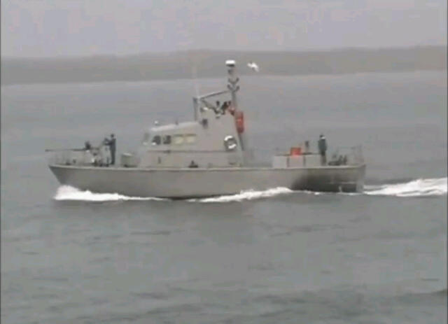 What make of patrol craft, most likely refurbished, is this?