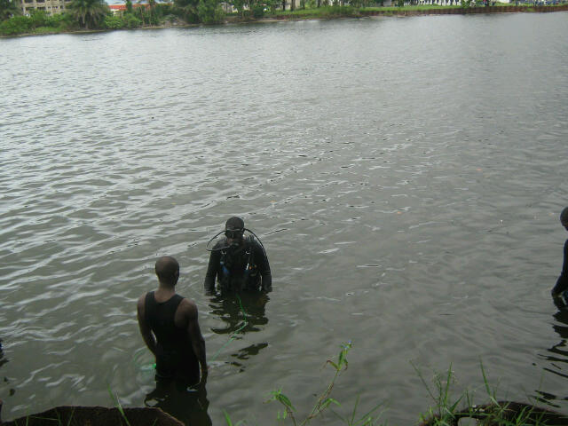 Nigerian Navy Special Boat Service personnel