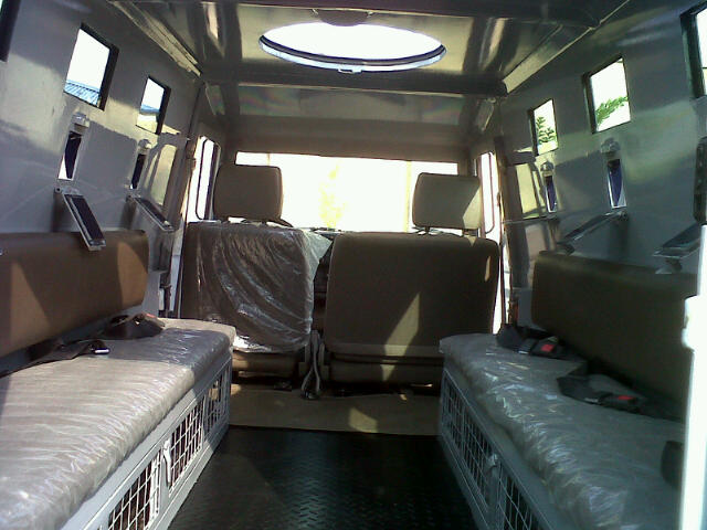 Cabin of the Proforce PF2 APV