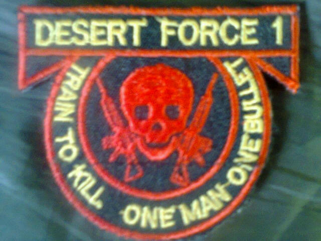 Logo of the Nigerian Arny Desert Force