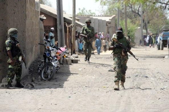 CTCOIN troops on patrol at Baga