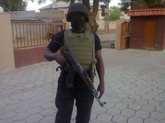 Nigerian Army Special Forces commando
