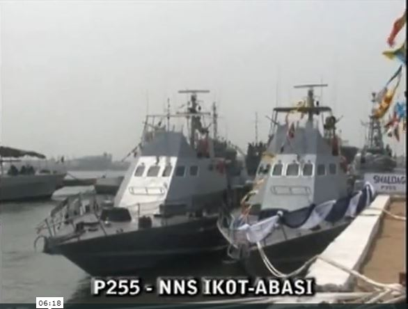Shaldag Fast Patrol Craft of the Nigerian Navy